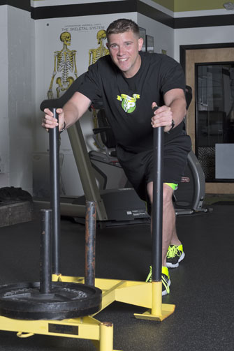 Joey Hacker is a master trainer at Fitness Plus in Lexington, Kentucky.