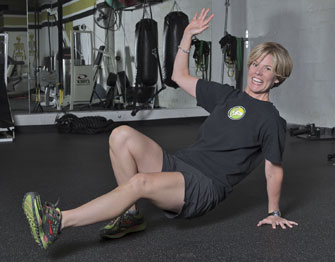 Laura Coombs is a master trainer at Fitness Plus in Lexington, Kentucky.