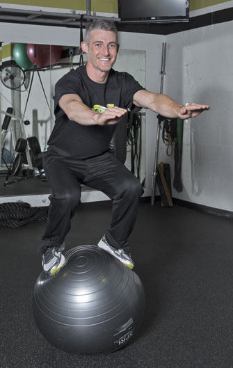 Rob Sweet is a master trainer at Fitness Plus in Lexington, Kentucky.