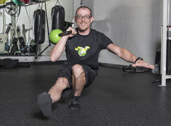 Shane Burry is a personal trainer at Fitness Plus in Lexington, Kentucky.